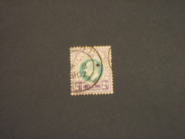 NATAL - 1902/3 RE  2 Sh. -TIMBRATO/USED - South Africa (...-1961)