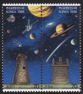 1986 - Michel 1447/1448 - Cote 10.00 - XX - Corée Du Sud
