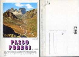 Ak Italien  -  Dolomiten - Pordoijoch - Italie