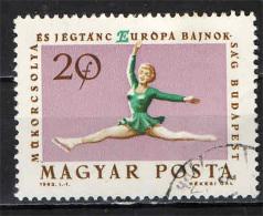 UNGHERIA - 1963 - CAMPIONATO DI PATTINAGGIO ARTISTICO - USATO - Oblitérés