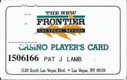 Frontier Casino Las Vegas, NV - Slot Card - Small PPC Logo Bottom Left Reverse - Casino Cards