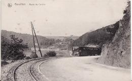 BOUILLON.-ROUTE DE CORBION.-TREIN-KOOPJE - Bouillon