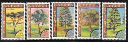 Ethiopia, Scott # 921-5 MNH Set Ethiopian Trees, 1979 - Ethiopie