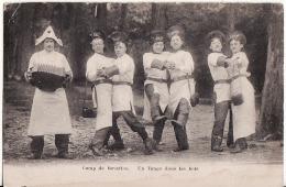CAMP DE BEVERLOO.-UN TANGO DANS LES BOIS.-KOOPJE - Leopoldsburg (Camp De Beverloo)