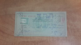 Israel-the Workers Bank Limited-(number Chek-426659)-(89lirot)-1946 - Israel