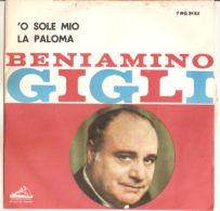"""Beniamino Gigli  O Sole Mio - La Paloma 1960 7"""" NM/VG+ - Country & Folk"""