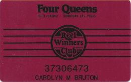 Four Queens Casino Las Vegas, NV - 5th Issue Slot Card - Casino Cards