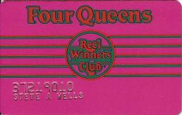 Four Queens Casino Las Vegas, NV - 3rd Issue Slot Card - Casino Cards