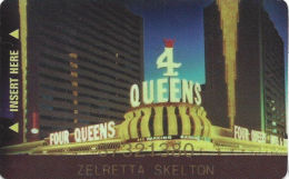 Four Queens Casino Las Vegas, NV - 6th Issue Slot Card - Casino Cards