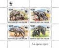 Niger 2015, WWF, Hyena, 4val In BF - W.W.F.