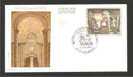 ENVELOPPE 1er JOUR 1969 - Eglise De St-Savin-sur-Gartempe - Le 28.06.1969 - - FDC
