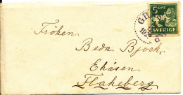 Sweden Small Cover Grästorp 24-12-1927 - Suède