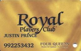 Four Queens Casino Las Vegas, NV -  Slot Card - ABL Over Mag Stripe - Casino Cards
