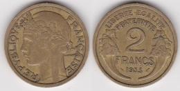2 FRANCS MORLON 1935 (voir Scan) 2 - France