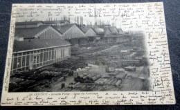 CPA à Dos Non Séparé  - LE CREUSOT (71) - Grande Forge - Cour Du Puddlage - 1902 - Le Creusot