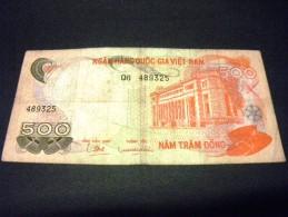 VIET- NAM DU SUD 500 DONG 1970, Pick N°28, SOUTH VIET NAM - Vietnam