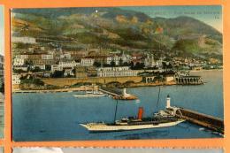 MAW-01 Monte-Carlo, Vue Prise De Monaco. Port. Circulé En 1923 Vers La Suisse - Monte-Carlo