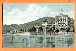 MAW-04 Pallanza Verbania Hotel St. Gotthard Pension Suisse. Lago Maggiore. Non Viaggiatta. - Verbania
