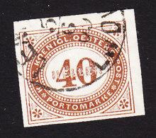 Austria, Scott #J20, Used, Postage Due, Issued 1899 - Segnatasse