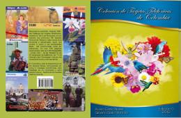 Lote 207, 2012, Catalogo De Tarjetas Telefonicas De Colombia, Colombia Phone Card Book - Cultura