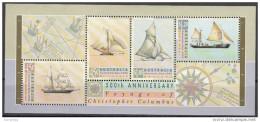 1252a Australia 1992 Sheet MNH C. Colombo Australian Day - Nuovi