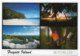 SEYCHELLES - FREGATE ISLAND VIEWS / THEMATIC STAMPS - BIRDS - Seychelles