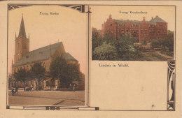 Linden In Welftf - Evang. Kirche Und Evang. Krankenhaus - Otros