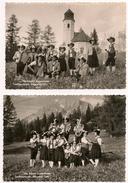Austria: Real Photographs X 2: Die Fidelen Loisachtaler, Biberwier, Tirol - Europe