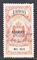 AZORES  REVENUE  1900  (o) - Azores