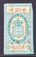 PORTUGUESE  INDIA  REVENUE   (o) - Portuguese India