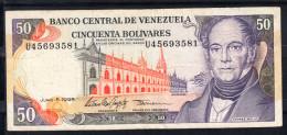 VENEZUELA 1995. 50 BOLIVARES.ANDRES BELLO   MBC    B790 - Venezuela