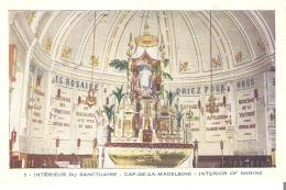 5 - Interieur Du Sanctuaire - Cap-De-La-Madeleine, Quebec  Interior Of Shrine - Quebec