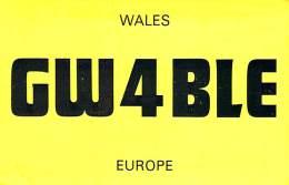 Amateur Radio QSL Card - GW4BLE - Mewport, Gwent Wales, UK - 1976 - 2 Scans - Radio Amateur