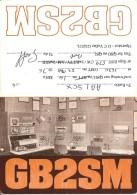 Amateur Radio QSL Card - GB2SM Science Museum - London ENGLAND - 1976 - 3 Scans - Radio Amateur
