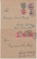 Danzig - 3 Briefe/Inflationszeit 1922/23, Alle N. Berlin Gelaufen - Dantzig