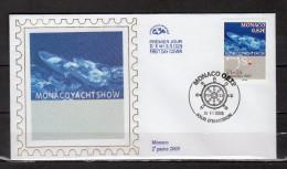 """Env. 1er Jour En Soie De 2005 """" MONACO YACHT SHOW """" N° YT 2497. Parfait état. FDC - FDC"""