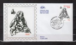 """Enveloppe 1er Jour En Soie De 2005 """" NOEL 2005 """" N° YT 2505. Parfait état. FDC - FDC"""