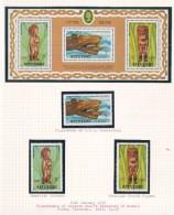 Cook Islands -Aitutaki SG 248-250+MS251 1978 Bicentenary Discovery Of Hawaii  MNH - Cookeilanden