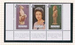 Cook Islands -Aitutaki SG 257-259 1978 25th Anniversary Of Coronation MNH - Cook Islands