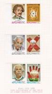 Cook Islands -Aitutaki SG 284-289 1980 25th Anniversary Of Death Of Albert Einstein  MNH - Cook Islands