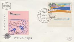 Enveloppe  FDC  1er  Jour  ISRAEL   Tourisme  Vues  Diverses   1962 - FDC