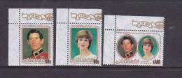 Cook Islands -Aitutaki SG 391-03 1981 Royal Wedding MNH - Cook Islands