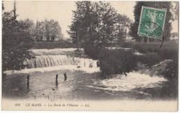 France, LE MANS, Les Bords De L'Huisne, Used Postcard [18272] - Le Mans