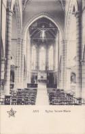 Ans - Eglise Sainte-Marie (1913, Edit. J. Janssens,... Du Curé De Ans Vers Aubel) - Ans