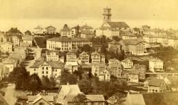 France? Panorama De Ville Non Identifiee Eglise Ancienne CDV Photo 1870's - Old (before 1900)