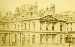 France Ruines De Paris La Commune Palais Royal Ancienne CDV Photo 1870's - Photographs