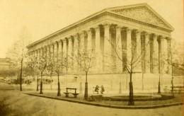 France Paris Eglise De La Madeleine Ancienne CDV Photo 1870 - Photographs