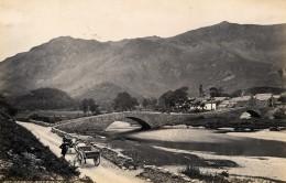 Royaume Uni Grange Borrowdale & Crummock Water Cumbria Deux Anciennes Photo Francis Frith 1870 - Photographs