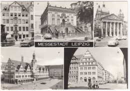 Leipzig: MOTORCYCLE & SIDE-CAR, TRABANT 600 KOMBI, WARTBURG 311/12 & 353 - Kaffeebaum, Georgi-Dimitroff Museum- (D.D.R.) - Toerisme
