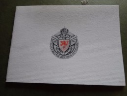 Carte Voeux -école Royale Des Sous-officiers ( Dinant) Pour L'an 2000 - Militaria